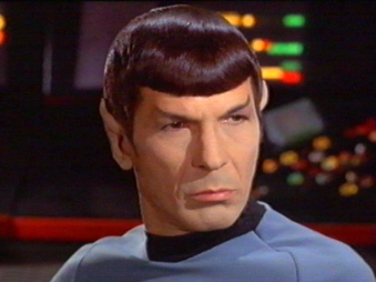 """""""Seems logical to me captain"""" - Mr. Spock"""