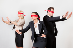 Blindfolded Salespeople, CEO Sales Guide, revenue growth, sales excellence, planning, sales forecast, pipeline, growing business, Intelligent Conversations, Mike Carroll, Milwaukee