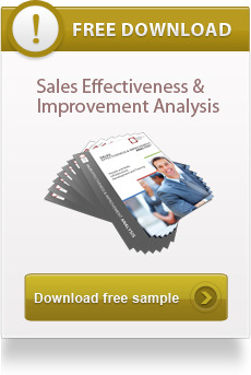 sales effectiveness and improvement analyses, sales success
